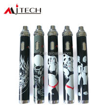Cheap 1300mah 1600mah variable voltage ego hello kitty electronic cigarette battery