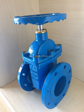 Drinking Water DIN 3352 F4 GGG50 Non Rising stem Resilient Seated Gate Valve