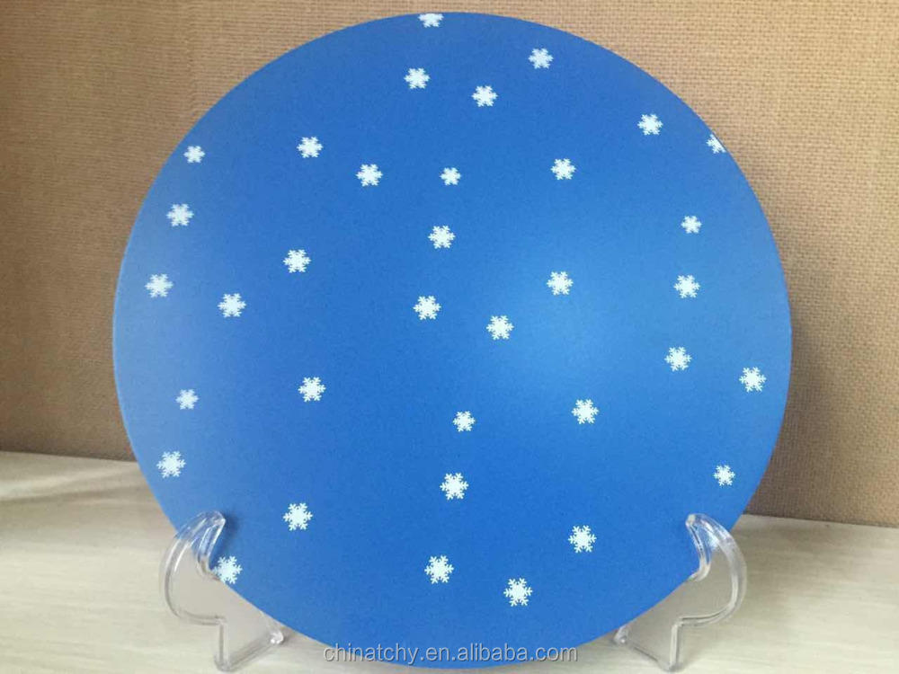 Online shopping CC teflon aluminum circle cutting disc for lamps and lanterns lighting decoration with low price