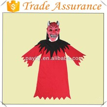Factory outlets Red devil costume Role Playing children Halloween costume stage Halloween Costumes Cheap satin party dress