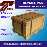 Heavy duty Paper Box Transportation Shipping Box With paper Pallet