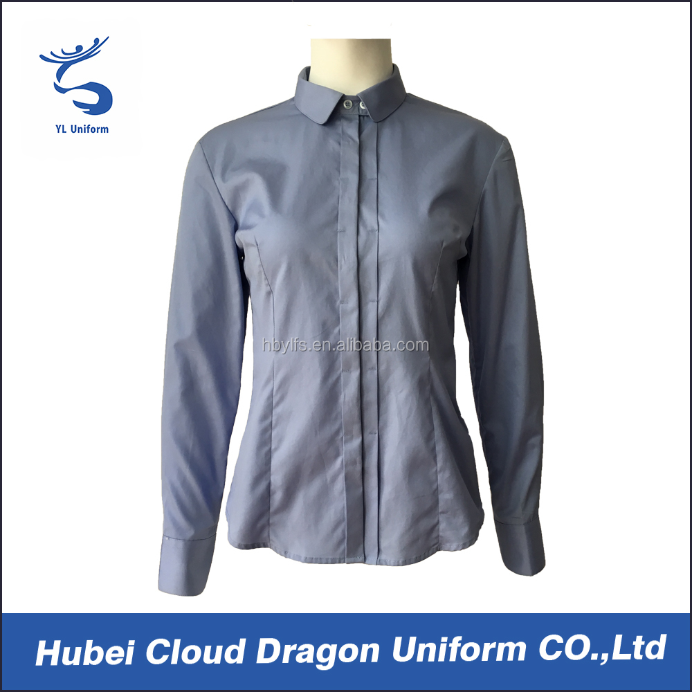 Best office uniform designs for women new style security staff shirts