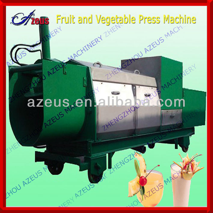 Fruit juice press