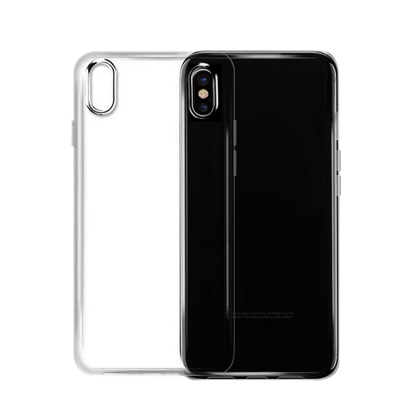 Clear Phone Case For iPhone X Case Shockproof TPU Transparent phone case for Iphone 8