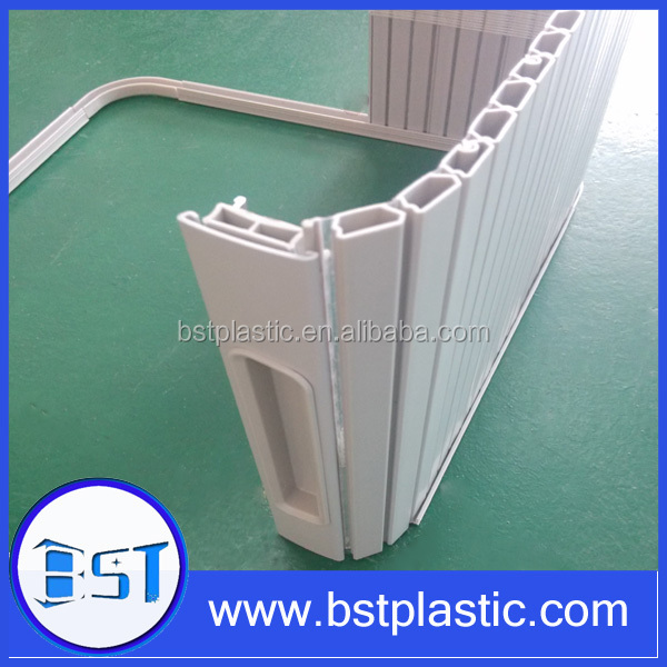 Vertical Opening Pattern and plastic Material Roll Up Door