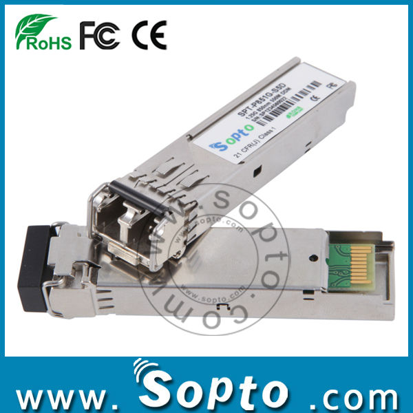 850nm mini gbic 1000base-sx sfp transceiver module for mmf