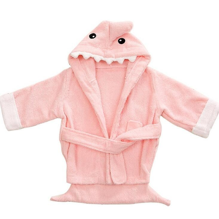 2017 wholesale cheap coral fleece baby kids cheap bathrobe for kids