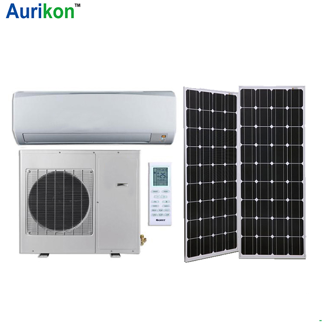 12000BTU off grid Solar Air conditioner 1.5 ton split <strong>ac</strong> prices in china 100% solar desert conditioner