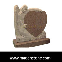 Decorative Angel Pet Child Granite Unique Monument Gravestone