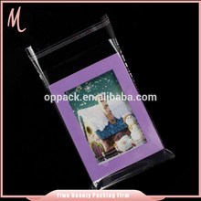 High quality eco-friendly cheap price photo frame plastic bag.opp package bag