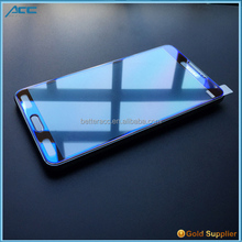 New tempered glass screen protector,9H hardness 2.5D round edge plating color tempered glass screen protector for Samsung Note 4