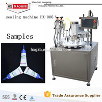 High Speed Shenzhen Factory Automatic Toothpaste Tube Fill Seal Machine HX-006