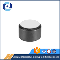 Tungsten Carbide Flat Button With Diamond Chip For PDC Drilling Bits