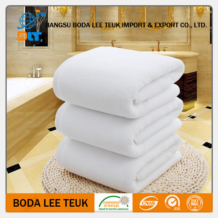 Soft and high absorbent microfibre bath towel/100% cotton towel fabric rolls with logo