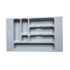 ABS Plastic Kitchen Drawer, Cutlery Tray, Cutlery Drawer Insert 330*550-440*55 mm