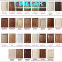 high quality modern design kitchen cabinet solid wood door