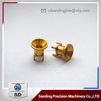 Precision copper CNC machining car parts, aviation connector parts manufacturers