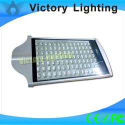 Free shipping 3pcs 6500k 98pcs led chips 100w led street light with 3 years warranty CE RoHS