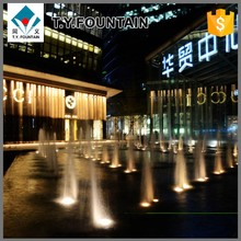 Stainless Steel Dry / Floor Type Chinese Outdoor Water Fountains