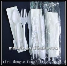 Chinese plastic travel cutlery set case