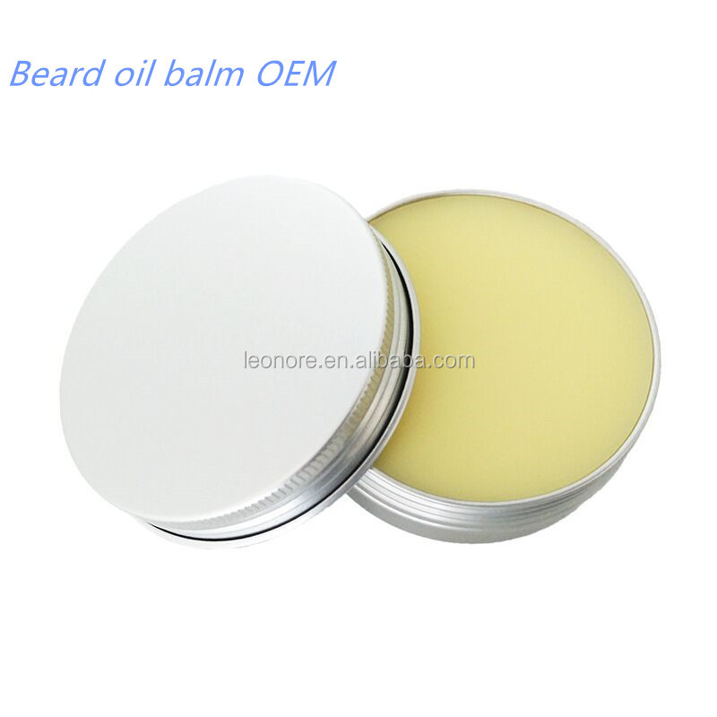 Private label Natural Organic beard balm 60g for man beard