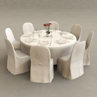 Chinese restaurant table foldable banquet table