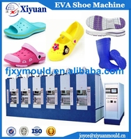 Single Color EVA Injection Slipper Sandal Clog Boot Shoe Machine