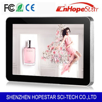 Factory direct supply 10 inch advertising player TV display lcd monitor usb media player for advertising used in shop