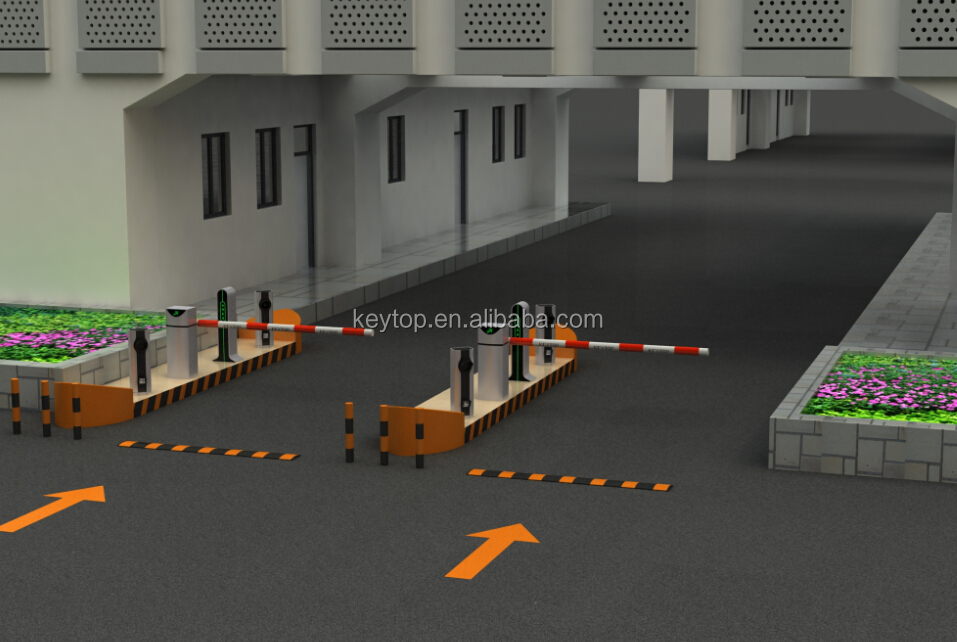 KEYTOP car park automatic parking lot barriers