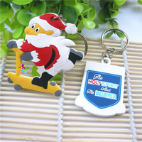 Promotional Wholesale Cheap Gift Item Customized Plastic PVC Keychain with Logo Print,Rubber Key Tag
