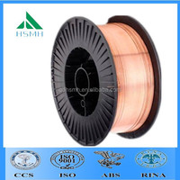 Copper / Copper Alloy Material ER70S-6 CO2 Mig welding wire