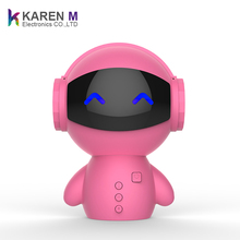 Christmas best gift for kids Robot Bluetooth speakers multi-function personalized small audio with FM radio
