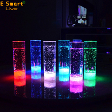 Colorful LED Flashing Light Up Glowing ABS Cups Glasses Wineglass Beer Cola Juice for Bar Club Party Festival