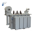 Low Loss Oil immersed 33/0.4kv 6 mva power transformer oltc