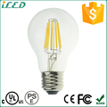 Dimmable Soft White Omni Filament 2200K 2300K 8W E26 A19 LED Bulbs
