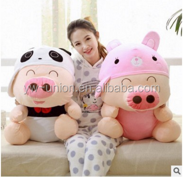 pink pig plush peppa plush toy manufacturer plush stuffed toy