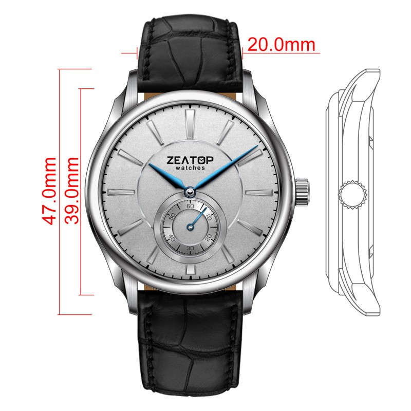 Japan Movt Quartz Stainless Steel Watches For Men