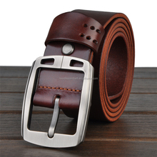 Latest Design Top Grain Leather Belt for Men
