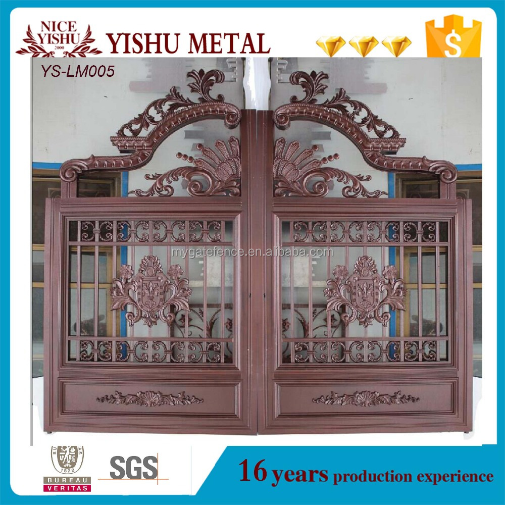 sliding gate designs for homes Aluminum Gate main gate designs for homes