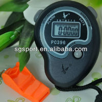 1-Row professional digital stopwatch sports timer with lanyard SGP396