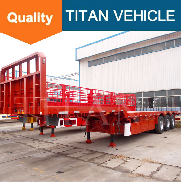 Optional Deck Widening / Slide Widener Tray , 3 Axle DROP DECK tilt Slide Trailer