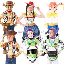 Toy Story Kids Fancy Dress Movie Characters Girls Boys Childrens Costume A001