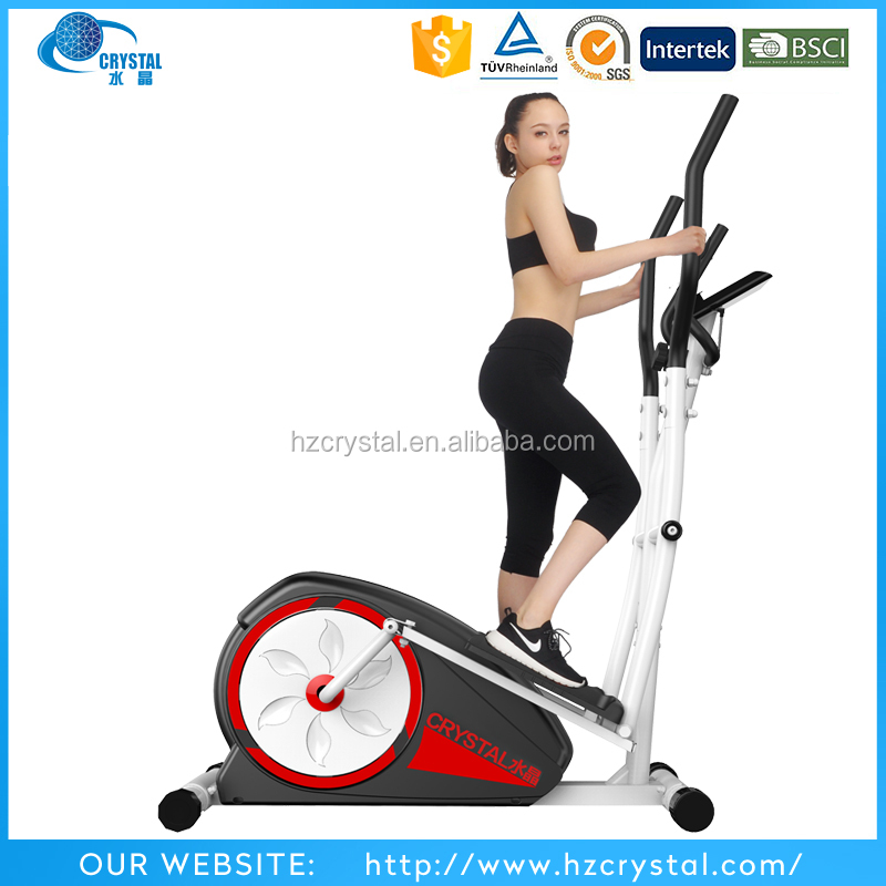 CRYSTAL SJ-2880 Home gym equipment proform cardio cross trainer /magnetic elliptical bike from hangzhou zhejiang