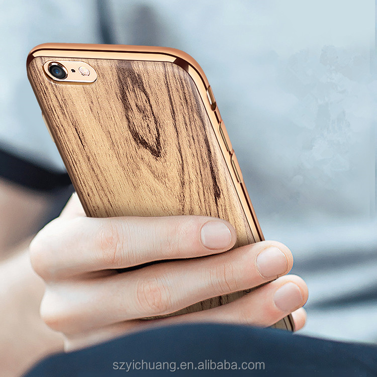 simple mobile phone case,wood for iphone case, cover case for iphone 7