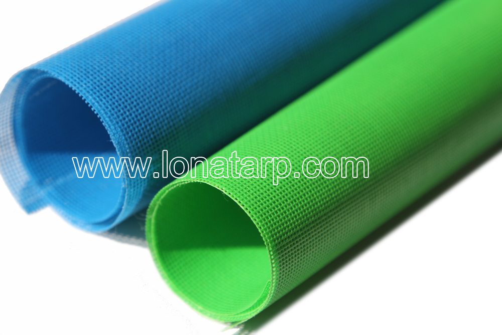 Fire Proof Semi Coated PVC Tarpaulin for Warehouse/Tent/Trunk Covering