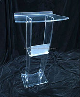 New style detachable acrylic church pulpit designs