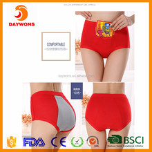 New Design Women Period Safety Underwear with Pocket Three Layer Physiological Panties Menstrual Panties