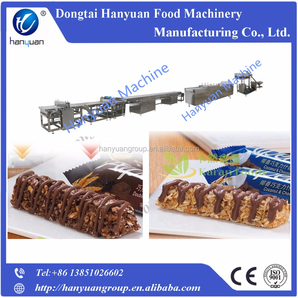 Cereal bar making machine with CE&ISO9001