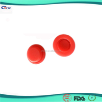 Custom waterproof dustproof decorative silicone rubber switch cap
