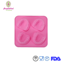 Funny Frozen Silicone Smiles Ice Cube Tray/Denture Ice Cubes Mould